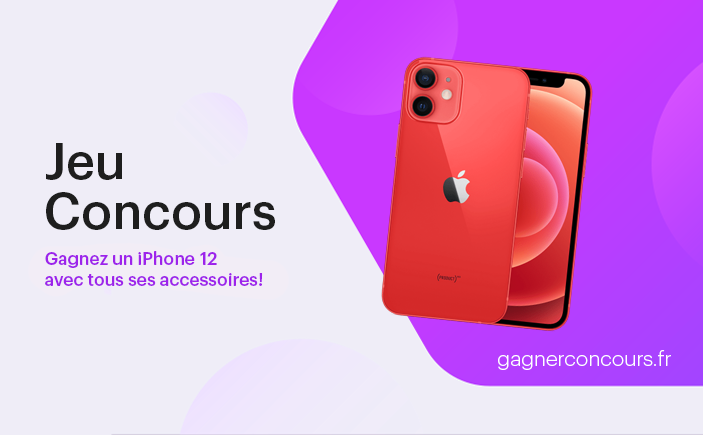 gagner 3 iphone 12